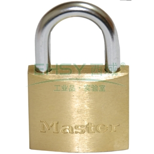 Master Lock60mm经济型铜挂锁,1904MCND(停产,售完即止)
