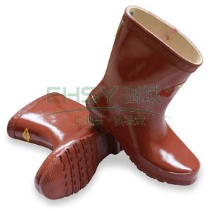 双安 25KV绝缘靴,电绝缘防滑,42