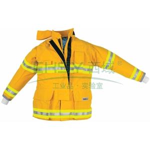 雷克兰OSX1000黄色消防战斗服上衣,S