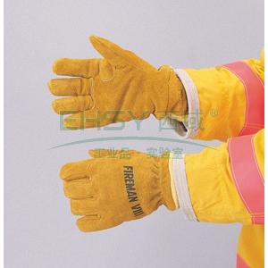 雷克兰皮质消防手套,344-11G