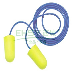 3M 311-1250 soft高降噪子弹型带线耳塞,200副/盒