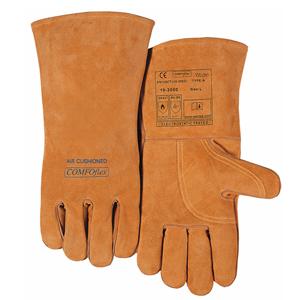 威特仕 10-2000XL 焊烧手套,雄鹿色斜拇指款