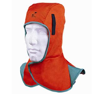 威特仕 23-6690 橙色全护式防火阻燃焊帽