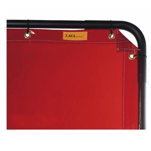 威特仕 焊接防护屏,55-6466,橙红色高透视防护屏 1.74*1.74m