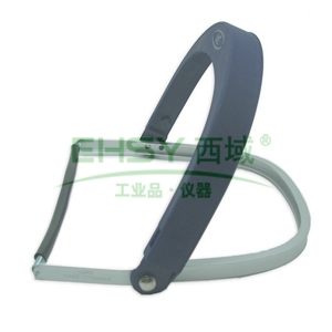 3M 面屏支架,82520 ,铝制 配安全帽和面屏使用 不含安全帽和面屏