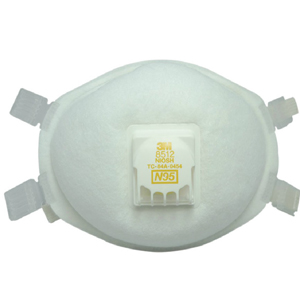 3M 焊接口罩,8512,N95焊接用防尘口罩,10个/盒