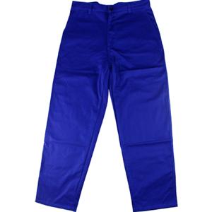 威特仕 焊接工作裤,33-9700-XXL,火狐狸蓝色时款工作裤