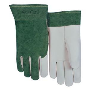 威特仕 焊接手套,10-1006-XL,白色羊青手感宝TIG手套