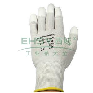 霍尼韦尔 2232240CN-7 PU手套,尼龙指浸PU涂层,白色