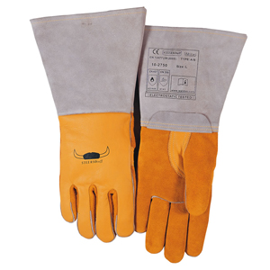 威特仕 焊接手套,10-2750-L,蛮牛王高档电焊手套
