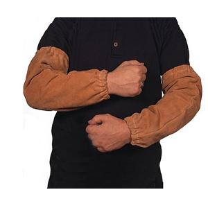 威特仕 焊接袖套,44-2316,皮手袖 棕黄色 41cm