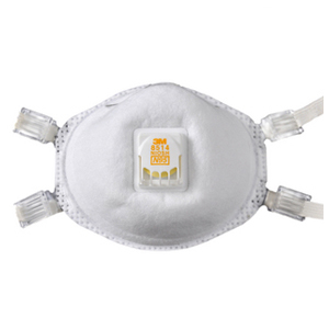 3M 焊接口罩,8514,N95焊接用防尘口罩,10个/盒
