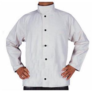 威特仕 33-8167-L 白色帆布上身工作服