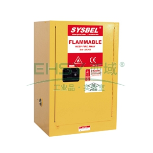 SYSBEL 易燃液体安全柜,FM认证,12G,不含接地线WA810120