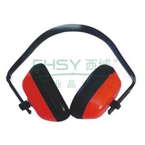 以勒 头戴式耳罩,红色