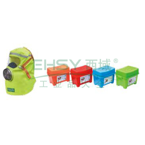 MSA 10159072 S-CAP 消防自救呼吸器,家庭装,3个/箱,绿色包装箱