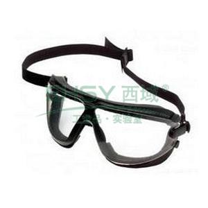 3M 16618防尘护目镜,透明镜片,DX 防雾防刮擦涂层