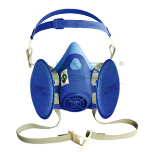 百安达 FCN1201 KN100 防尘呼吸套装,FEA02面罩+N1201过滤元件