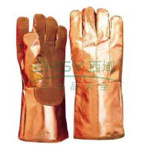 雷克兰 300系列镀铝纤维安全袖套型手套,344-02A