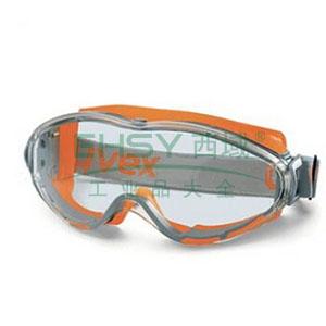 优唯斯9002245透明镜片,黄色镜框护目镜