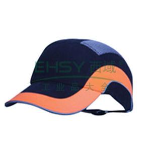 JSP 01-5001舒适型运动安全帽,黑橘色,帽檐7cm,20顶/箱