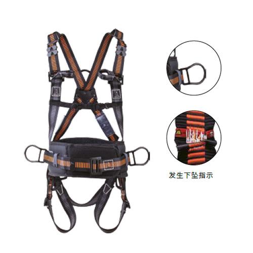 代爾塔DELTAPLUS 帶護腰安全帶, 501024,HAR24 雙調兩掛點含定位腰帶安全帶