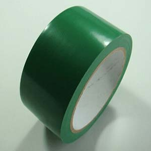 安赛瑞 地板划线胶带(绿色)-高性能自粘性PVC材料,绿色,50mm×22m