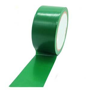 安赛瑞 耐磨型划线胶带(绿)-高性能自粘性PVC材料,表面覆超强保护膜,绿色,75mm×22m