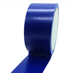 安赛瑞 耐磨型划线胶带(蓝)-高性能自粘性PVC材料,表面覆超强保护膜,蓝色,100mm×22m