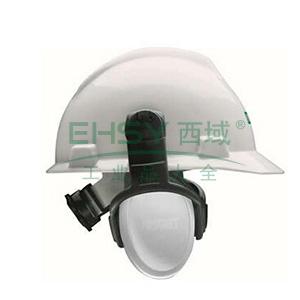 MSA 10087430左/右系列被动式耳罩,中衰减,白色,头盔式,20副/箱