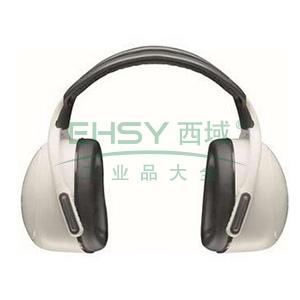 MSA 10087421左/右系列被动式耳罩,高衰减,白色,头戴式,20副/箱