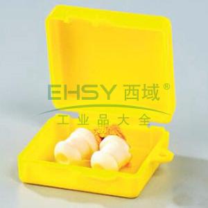 蓝鹰 NP354耳塞,PVC简易型带线耳塞,带独立保存盒,200副/盒