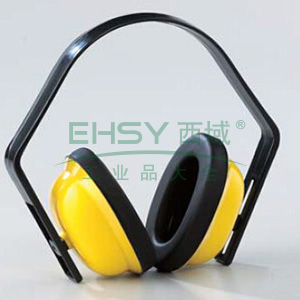 蓝鹰 EM62 轻便型17dB耳罩,黄色