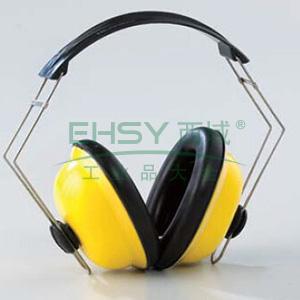 蓝鹰 EM65 轻便型15dB耳罩,黄色