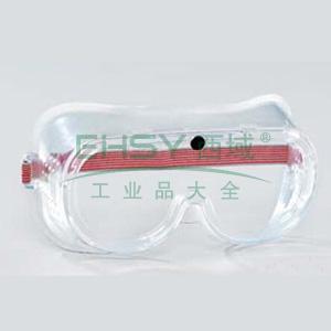 蓝鹰 NP102护目镜,PC 1.0mm ,防尘防冲击(不防雾),直接透气