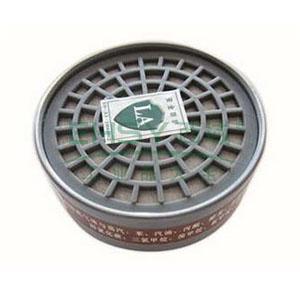 以勒3号圆形滤毒盒,9710A面具套装配套滤盒