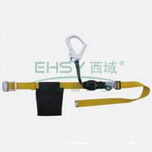 奎楼 单挂点式安全带,1.5米,GZ-Y速差式安全带