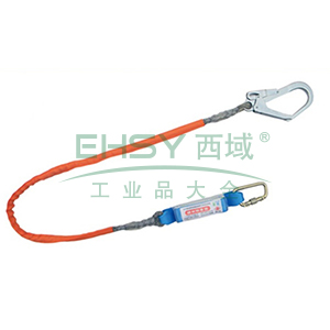 奎楼 缓冲减震系绳,单头大钩,GHD-B22