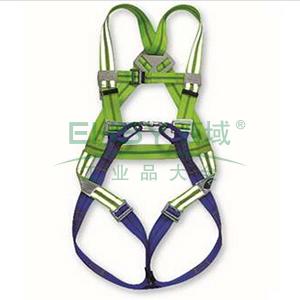上海 高可视全身式两挂点安全带,60411F