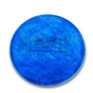 南核 8001 KN100滤棉(蓝)防有机异味非油性颗粒物适用于8009