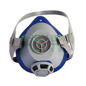 南核 2628 轻巧舒适型防护面罩(本体),需配套承接座和滤棉使用
