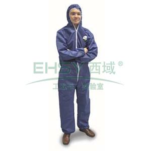 雷克兰 PPP428BE-XXXL 聚服佳蓝色防化服,40件/箱