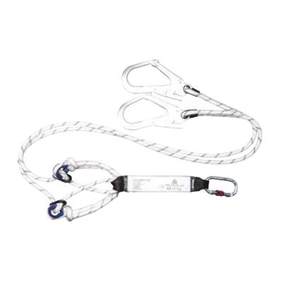 代尔塔 SECUREX Y型大钩可调长度减震绳,AN218RCDD,504218