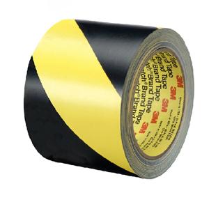 5702黄黑相间地面警示胶带,100mmx33m