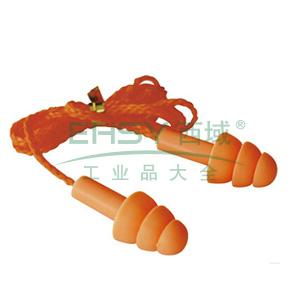 世达 FH0304 圣诞树型硅胶耳塞(带线),1副
