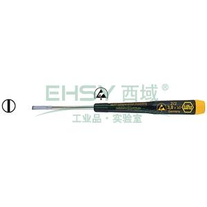 威汉防静电一字螺丝刀,3.0×50mm,07637