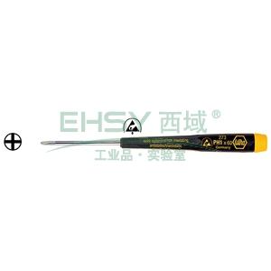 威汉防静电十字螺丝刀,PH1×60mm,07642