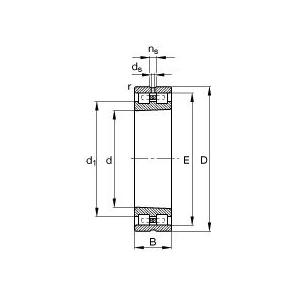 FAG圆柱滚子轴承,NN3056-AS-K-M-SP