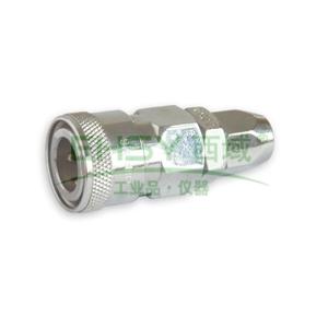 JPE螺帽式PU管用插座,Φ5xΦ8,碳钢,AFE-21SA