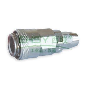 JPE单插式螺帽式PU管插座,Φ8xΦ12,碳钢,AFE-23YSA
